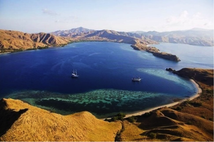 Image of Landscape at Komodo, Indonesia