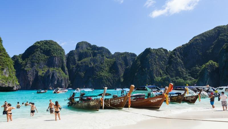 Beach in Koh Phi Phi