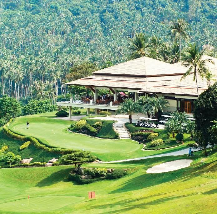 Santiburi Gold Course