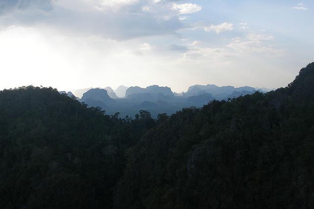 Krabi's landscape