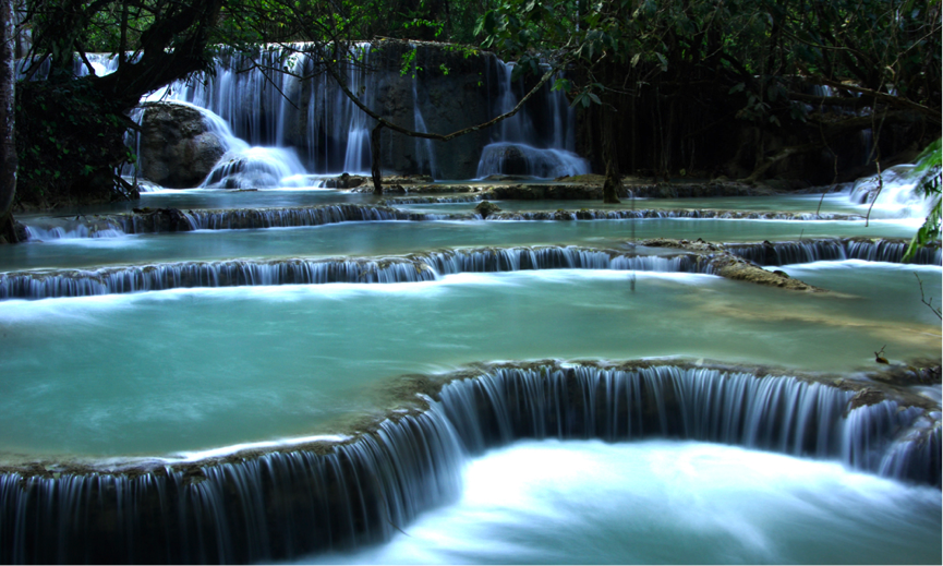 Image of Waterfalls, Si Phan Don (Four Thousand Islands), Laos