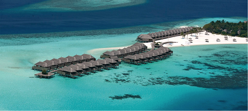 Image of Villas on the water at Moofushi Island, Maldives